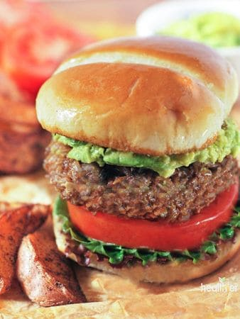The Ultimate Oatmeal Vegan Burger (Makeover)