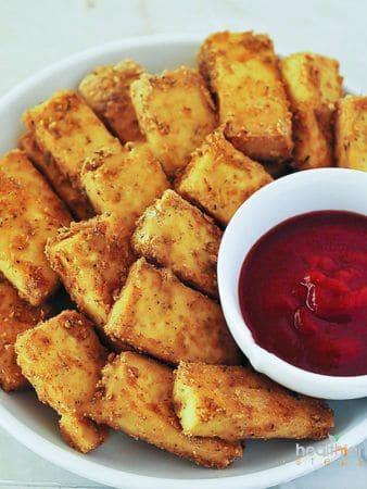 Gluten-Free Tofu Nuggets