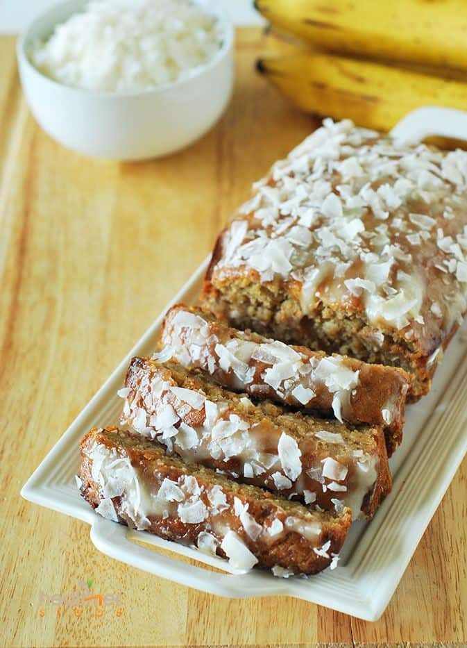 banana bread banana coconut bread coconut lemon banana bread vegan ...