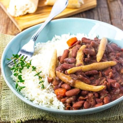 Vegan Jamaican Stew Peas