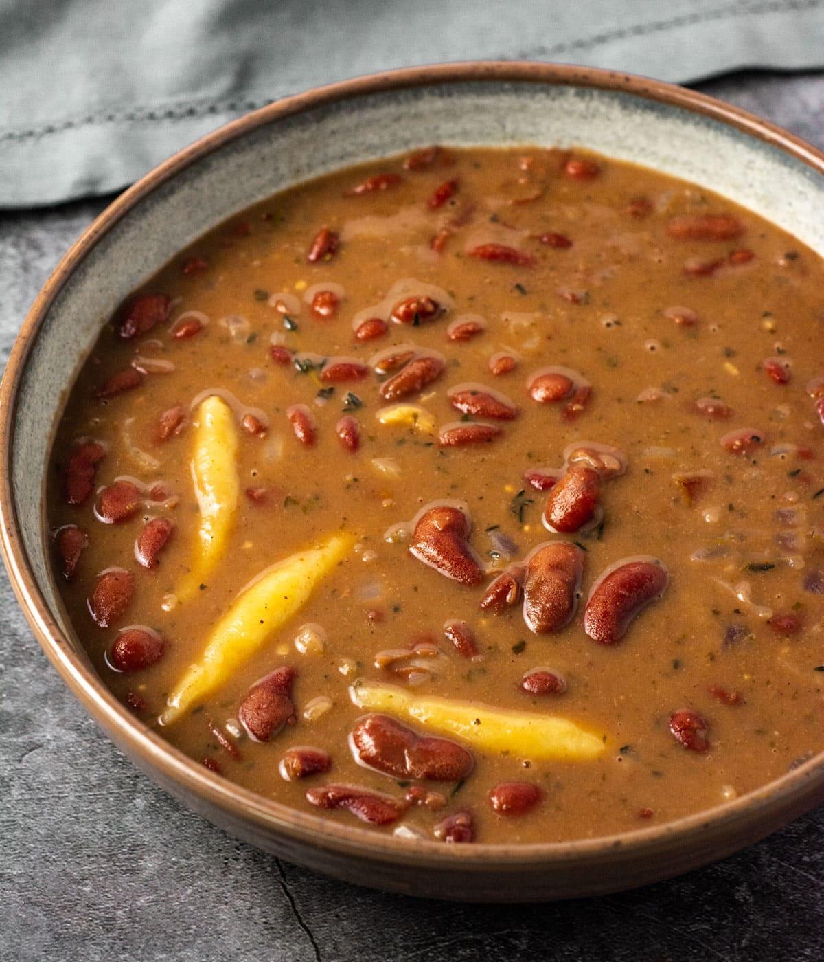 vegan jamaican stew peas  healthier steps