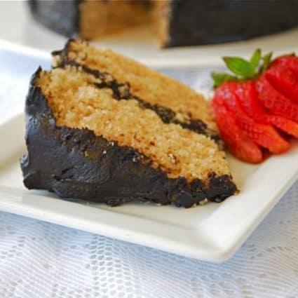 Almond Fudge Cake