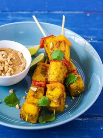 Tofu Satay Gluten-Free Vegan