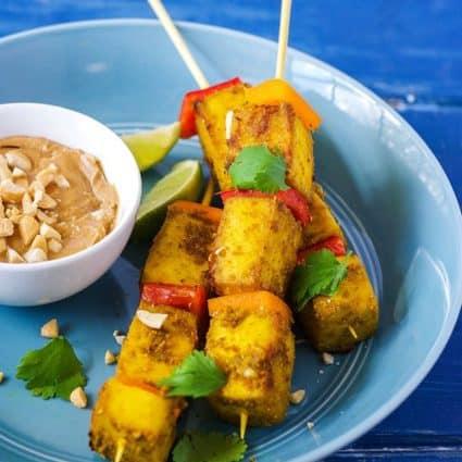 Tofu Satay (Gluten-Free)