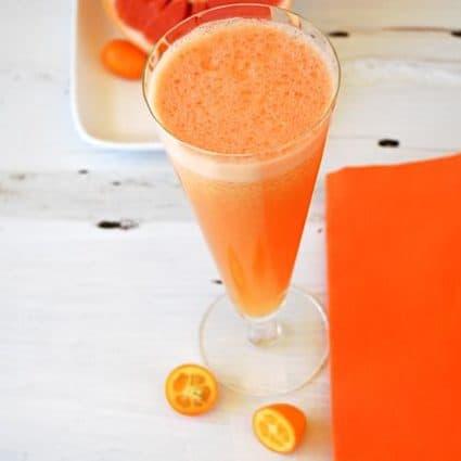 Day 5 of Juicing: Grapefruit & Kumquat Juice