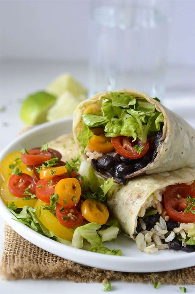Black Bean Burritos