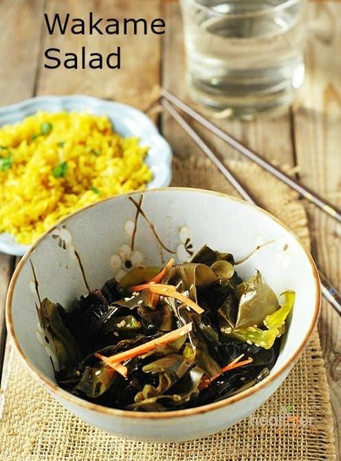 Wakame Salad (Gluten Free)