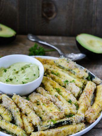 Baked Zucchini Fries Gluten-Free Vegan