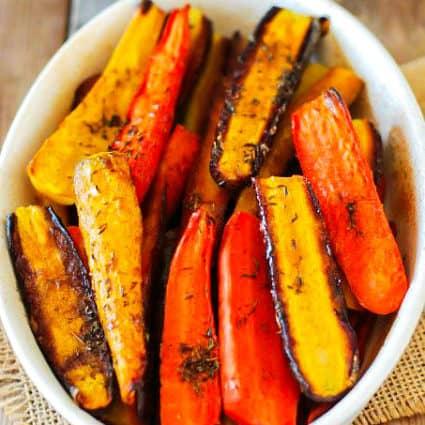Maple Glazed Carrots (Vegan)