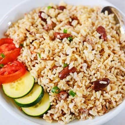 Jamaican Rice & Peas (Brown Rice)