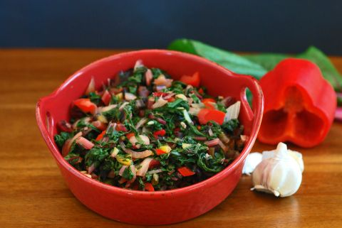 how to cook swiss chard sauteed