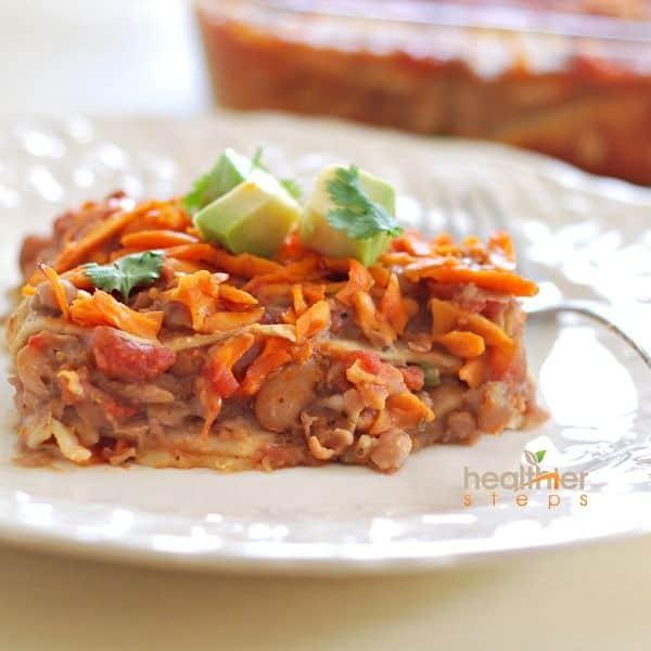 Mexican Lasagna (Vegan, Gluten-Free)