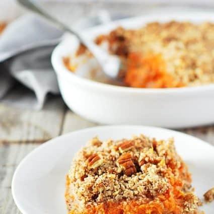 Sweet Potato Souffle (Vegan, Gluten Free)