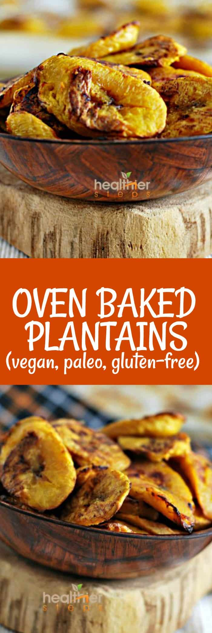Oven Baked Plantains