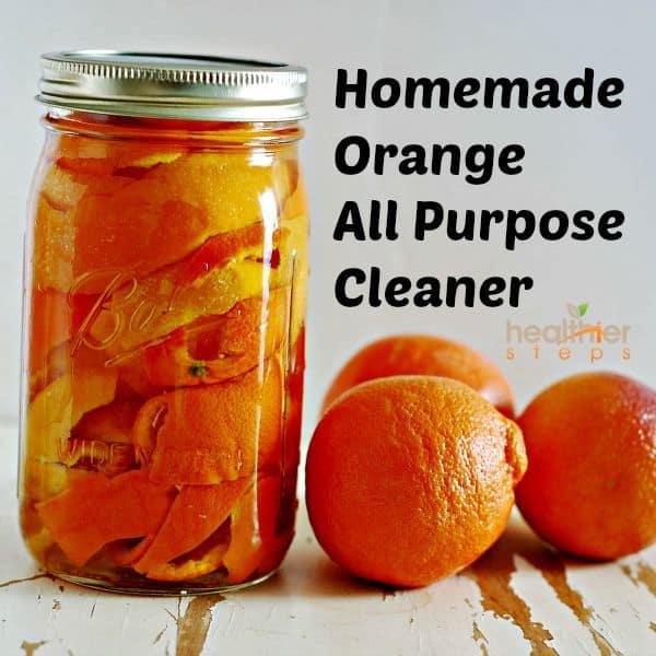 Natural Orange All Purpose Cleaner Healthier Steps