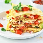 Quick and Easy Quesadilla