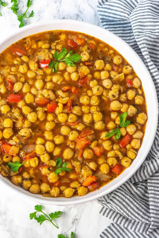 Chickpea Stew (Vegan, Gluten,free)