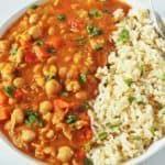 Chickpea Stew Gluten-Free Vegan