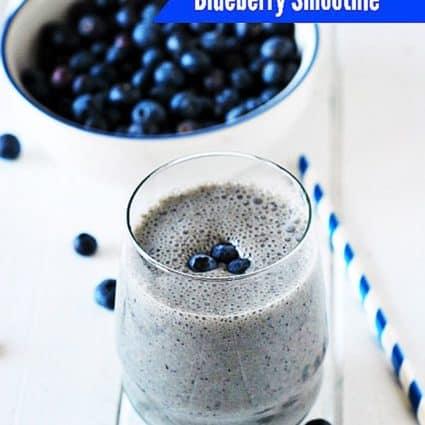 Blueberry Smoothie (Vegan)
