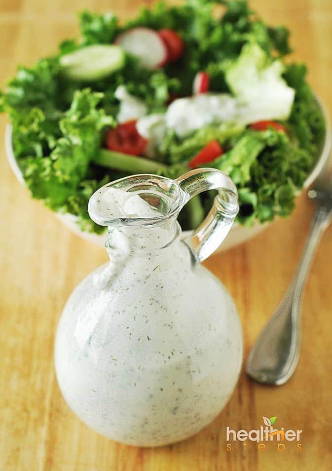 Coconut Chia Salad Dressing