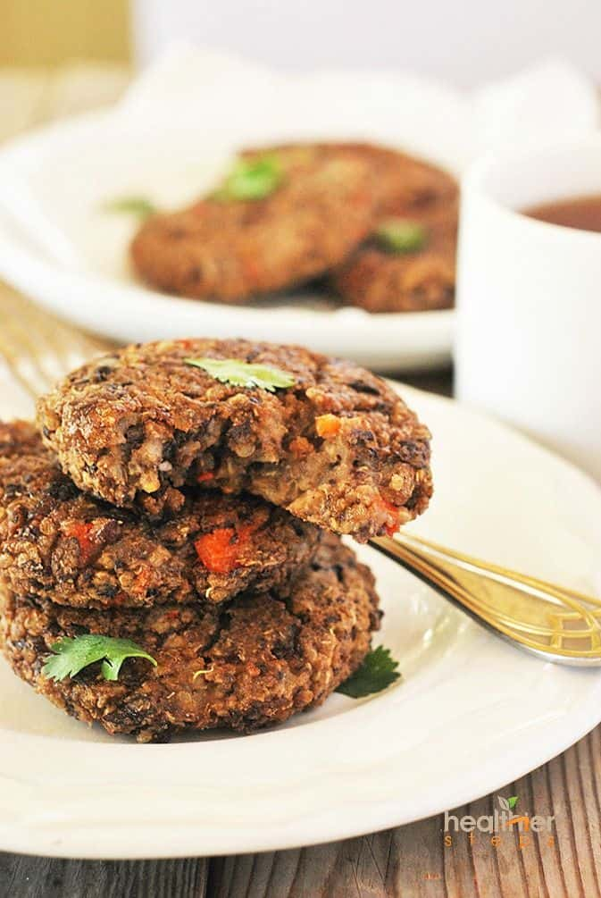Black Bean Quinoa Patties