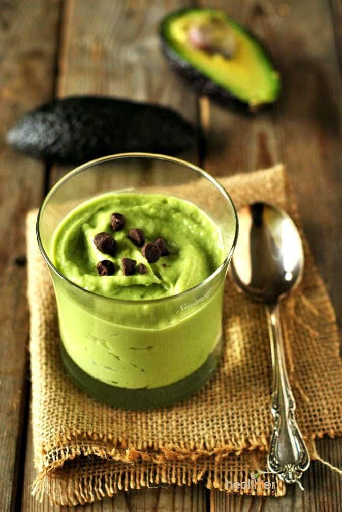 Key Lime Avocado Pudding