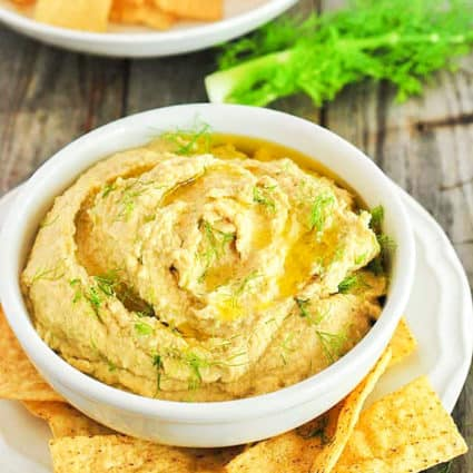 Roasted Fennel Hummus