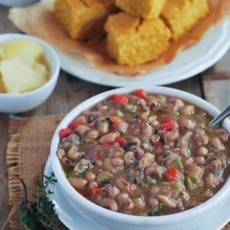 Vegan Southern Black-Eyed Peas
