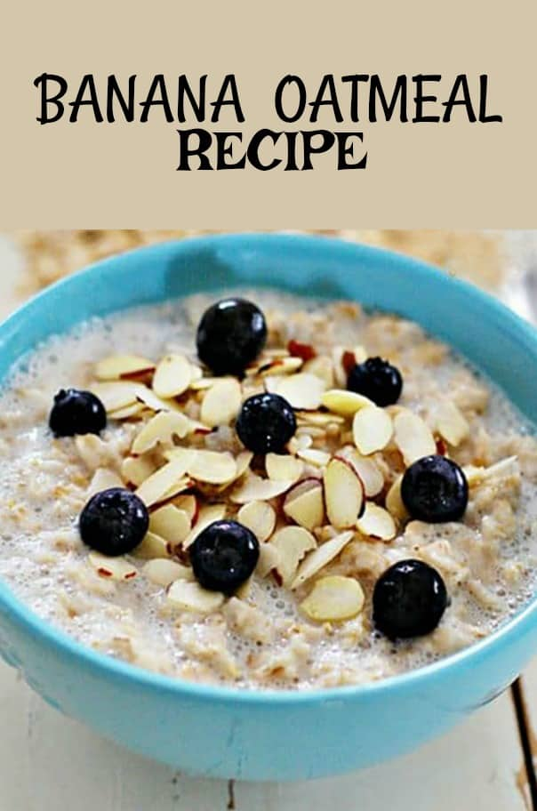 Banana Oatmeal Recipe Pn