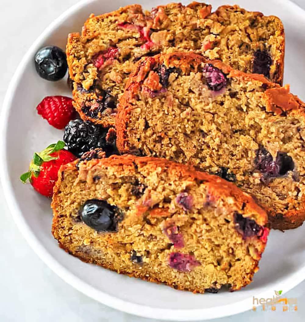 Berry Banana Bread
