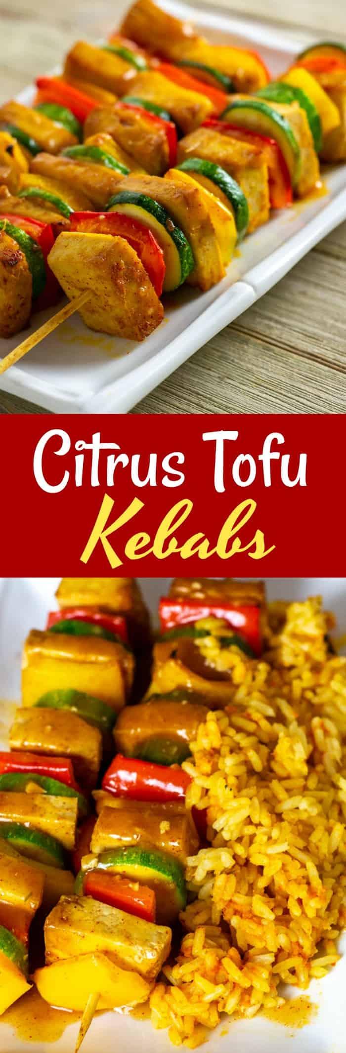 Citrus Tofu Kebab Pin