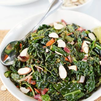 Sauteed Kale With Garlic And Onions