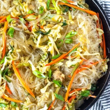 Pancit Bihon (Filipino Noodle)