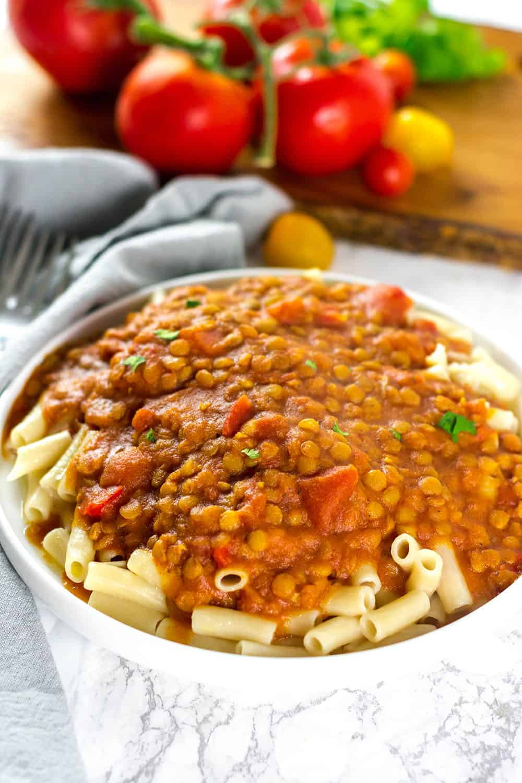Vegan Bolognese