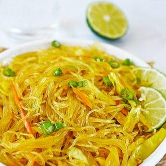 Pancit Bihon (Filipino Noodles)