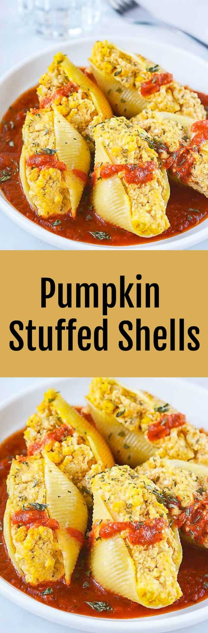 Pumpkin Stuffed Shells