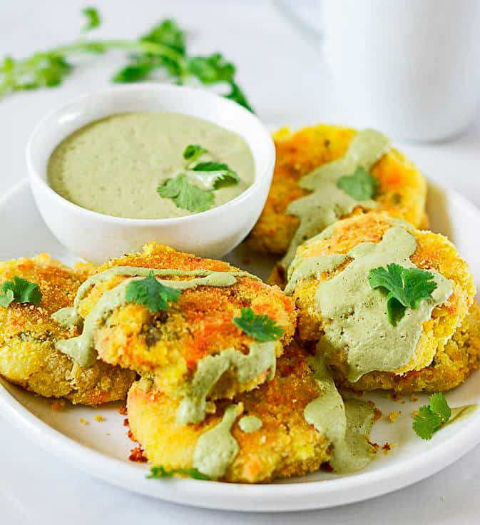 how to make vegetable patties indian