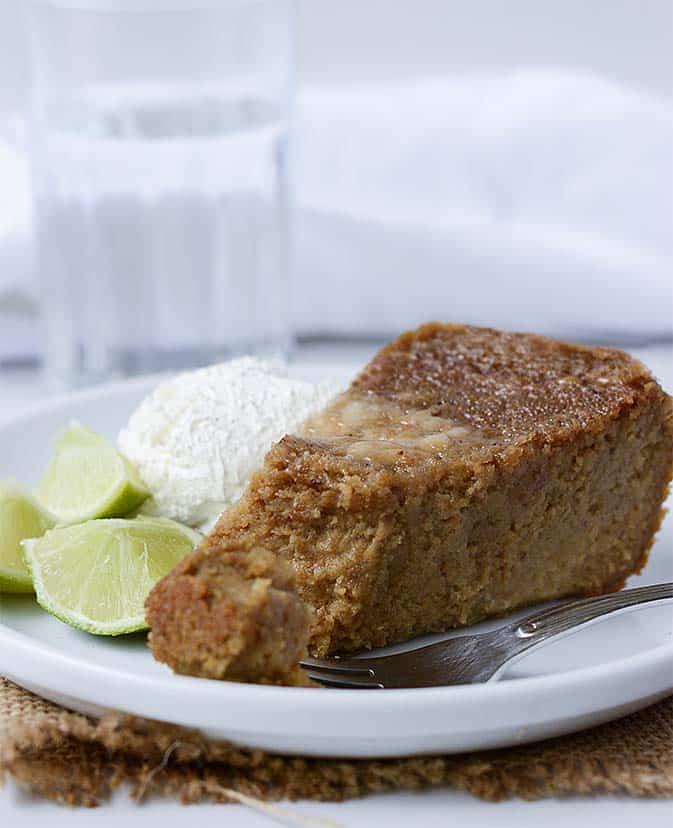 Vegan Jamaican Sweet Potato Pudding