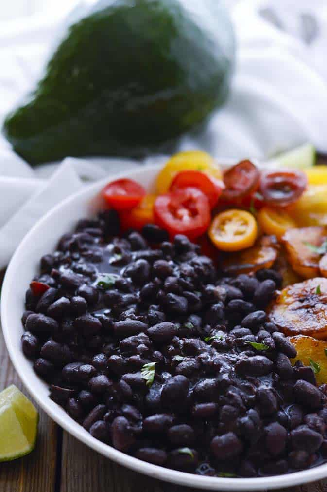 Vegan Brazilian Black Bean Stew