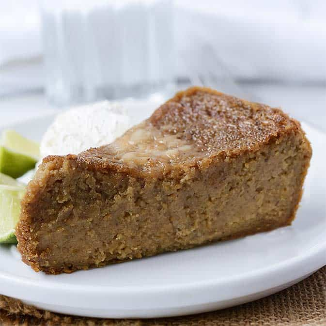 Jamaican Sweet Potato Pudding (Vegan, Gluten-Free)