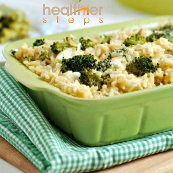 Vegan Broccoli Cheese Casserole