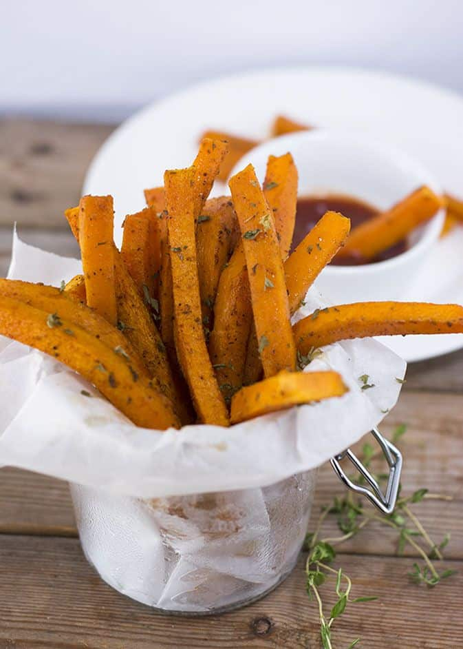 Jamaican Jerk Butternut Fries