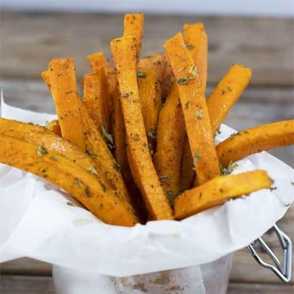 Jamaican Jerk Butternut Squash Fries