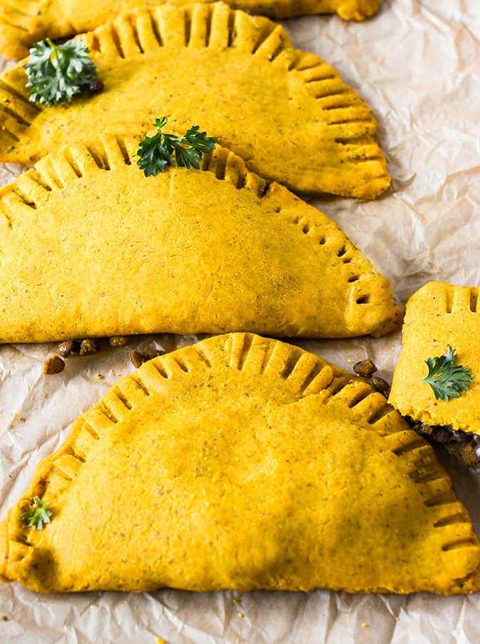 Jamaican Lentil Patties