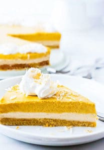 Vegan Pumpkin Cheesecake - Healthier Steps