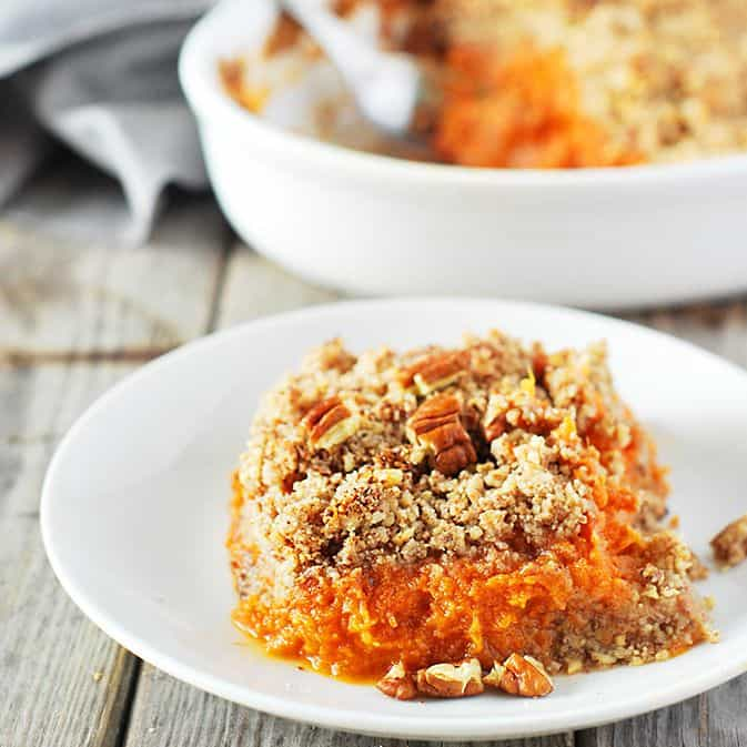 Sweet Potato Souffle Vegan Gluten-Free