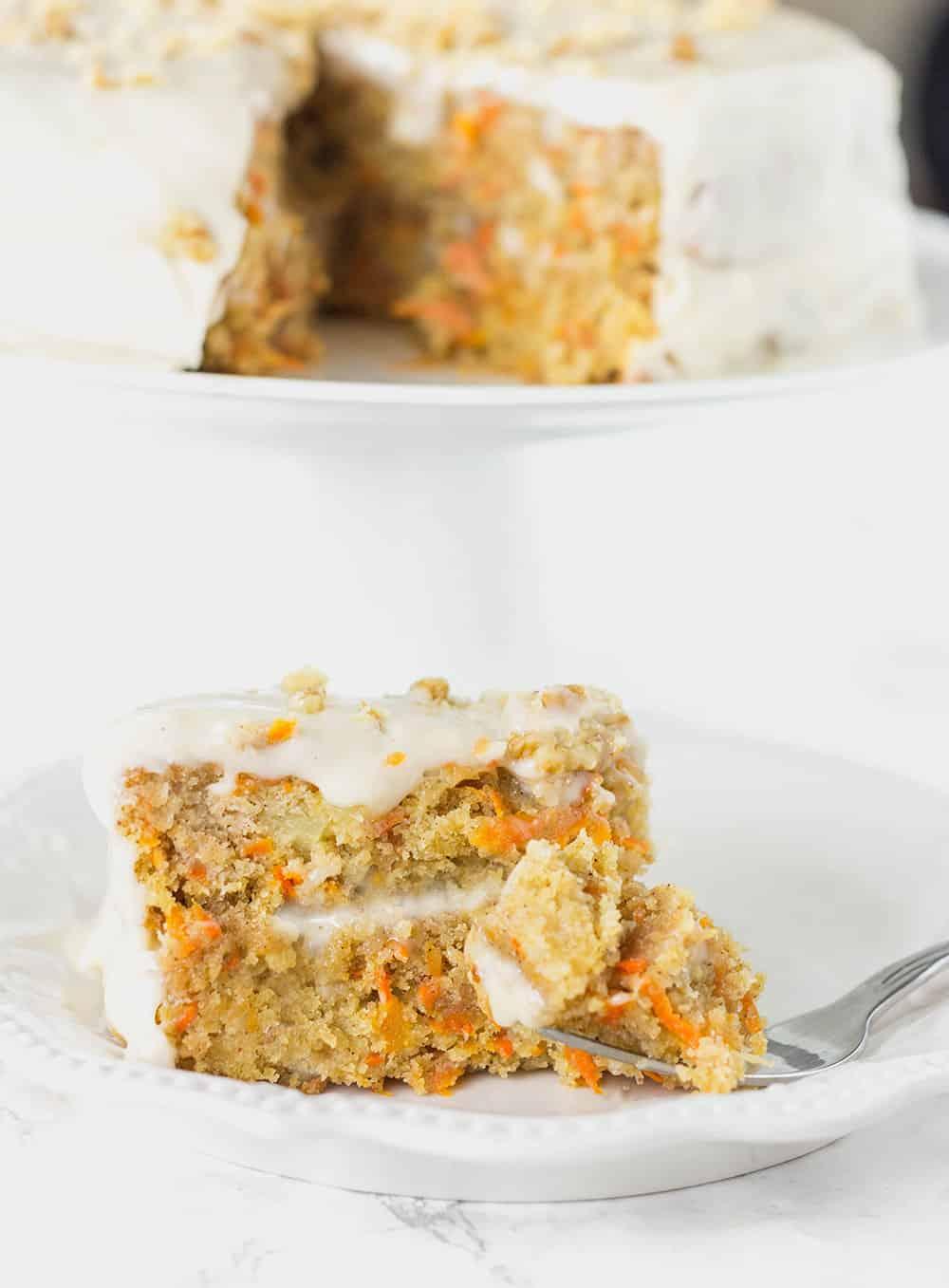 Vegan, Gluten-Free Carrot Cake