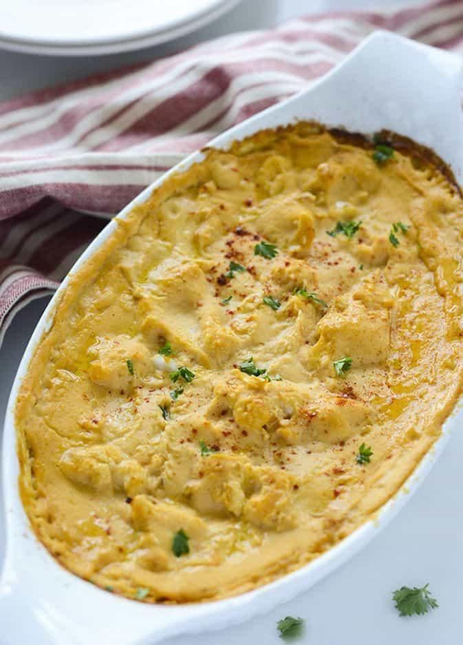 Gluten-Free Vegan Cauliflower Casserole