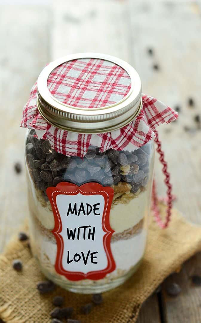 Gluten-Free Vegan Oatmeal Cookies in a Jar