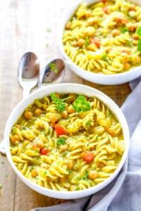 Vegan Chicken Noodle Spup